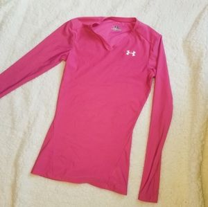 2/$10 Under Armour size SM hot pink